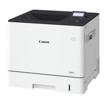 Лазерен принтер Canon i-SENSYS LBP710cx, цветен, 9600x600 dpi, 33 стр/мин, LAN 10/100/1000, USB, A4, двустранен печат image