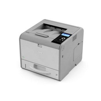 LED принтер Ricoh SP 450DN, монохромен, 1200 x 1200 dpi, 40 стр/мин, Wi-Fi, LAN1000, USB, двустранен печат, A4 image