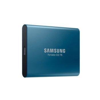 Памет SSD 250GB, Samsung T5, USB 3.1 Gen2, скорост на четене до 540 MB/s, скорост на запис до 540 MB/s image
