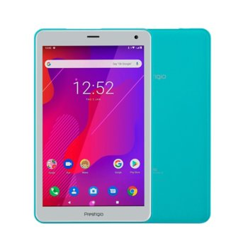 "Таблет Prestigio Q PRO PMT4238 (PMT4238_4G_D_MT)(зелен), четириядрен Spreadtrum SC9832E 1.40GHz, 8"" (20.32 cm) IPS дисплей, 2GB RAM, 16GB Flash памет (+microSD слот), 2.0 & 0.3, MPix камера, Android, 351g image"