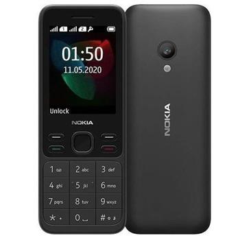 "GSM NOKIA 150 DS 2020 (черен), 2.4"" (6.096 cm) TFT Display, (+microSD слот), 0.3 Mpix camera, 90.5g image"