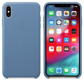 Apple iPhone XS Max Leather Case - Cornflower product
