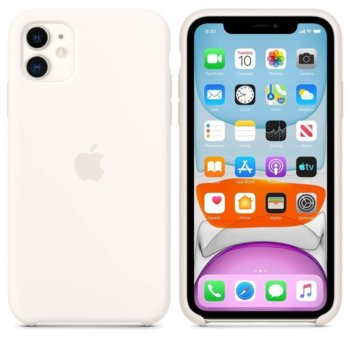 Apple Silicone case iPhone 11 white MWVX2ZM/A product
