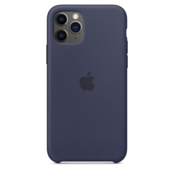 Kалъф за Apple iPhone 11 Pro, Apple Silicone Case, силиконов, син image