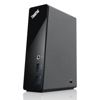Докинг станция Lenovo ThinkPad Basic, USB 3.0, черна image