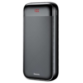 Bъншна батерия/power bank/ Baseus Mini Cu, 20 000mAh, черна, 2x USB A, 1x USB Type C, 1x Lightning image