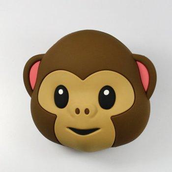 Външна батерия/power bank/ Mojipower Маймуна, 5200 mAh, кафява image