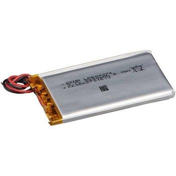 Литиева батерия LP604374-PCM, 3.7V, 2200mAh, Li-polymer, 1бр., PCM защита image
