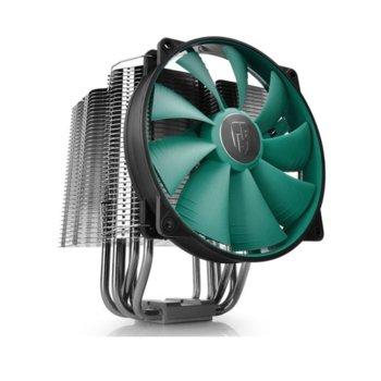 Охлаждане за процесор DeepCool LUCIFER V2, съвместимост със сокети LGA20XX/LGA1366/LGA115X/LGA775 & AMD AM4/AM3(+)/AM2(+)/FM2(+)/FM1 image