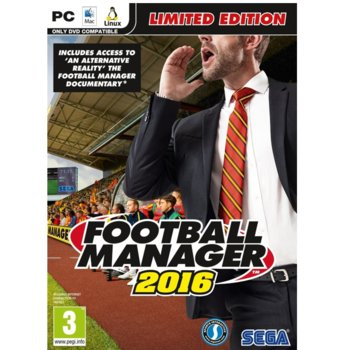 Football Manager 2016 - Limited Edition product