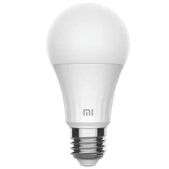 Смарт крушка Xiaomi Mi Smart LED Bulb, 8 W, 810 lm, Wi-Fi, Android/iOS, бял image