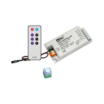 LED димер Actec LD-LT8903-IR, 216W, 5-24V DC, 9A, триканален image
