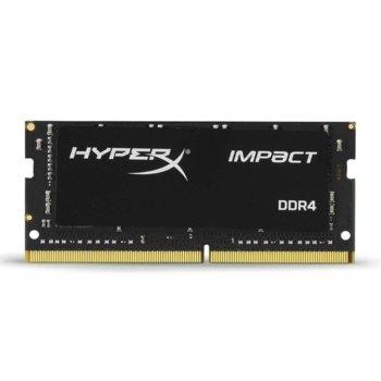 Памет 16GB DDR4 2933MHz, SO-DIMM, Kingston HyperX IMPACT HX429S17IB/16, 1.2V image