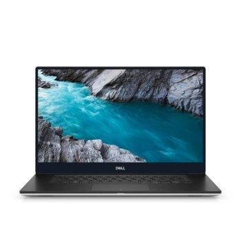 "Лаптоп Dell XPS 7590 (5397184311554)(сребрист), шестядрен Coffee Lake Intel Core i7-9750H 2.6/4.5 GHz, 15.6"" (39.62 cm) UHD/4K IPS Anti-Glare Touchscreen Display & GTX 1650 4GB, (HDMI), 16GB DDR4, 1TB SSD, 1x Thunderbolt 3, Windows 10 Home image"