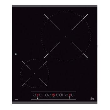 Стъклокерамичен плот за вграждане Teka IR 4200, 2 нагревателни зони, автоматично изключване за безопастност, независимо програмиране на всяка зона, индикатор за остатъчна топлина, детектор за подходящи готварски съдове, черен image