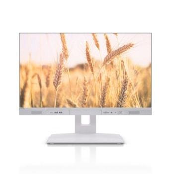 "All In One компютър Fujitsu Esprimo K5010/24 (FUJ-PC-K5010-i3-10100), четириядрен Comet Lake Intel Core i3-10100 3.6/4.3 GHz, 23.8"" (60.45 cm) Full HD Anti-Glare Display, (DP), 8GB DDR4, 256GB SSD, No OS image"