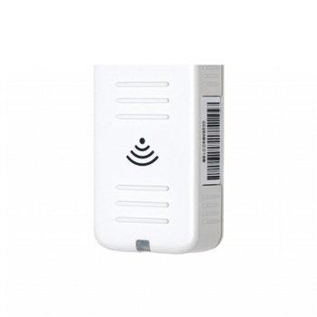 Адаптер Epson ELPAP10, предназначен за мултимедиен проектор, Wireless 802,11 б / г / N стандарти, USB A, съвместим с PC или Mac, предава аудио image