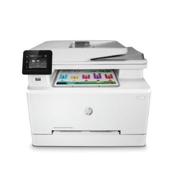 Мултифункционално лазерно устройство HP Color LaserJet Pro MFP M282nw, цветен принтер/копир/скенер, 600 x 600 dpi, 21 стр/мин, LAN, Wi-Fi, USB, A4 image