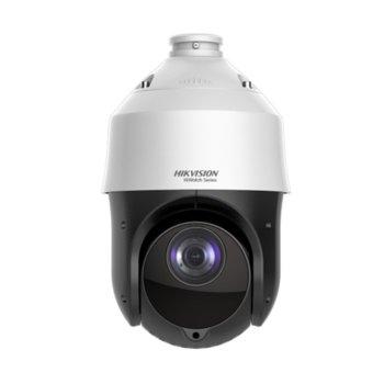 IP камера HikVision HWP-N4225IH-DE, PTZ камера, 2Mpix(1920x1080@25fps), 4.8/120 mm обектив, IR осветеност (до 100 м), H.265+/H.265/H.264+/H.264, външна IP66, PoE+, RJ-45 image
