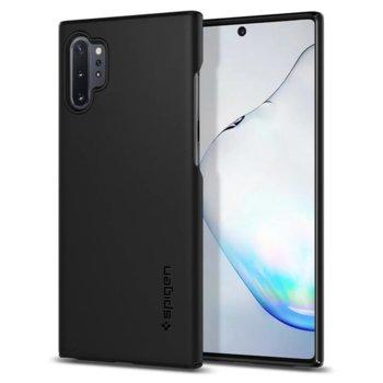 Калъф за Samsung Galaxy Note 10 Plus, поликарбонатов, Spigen Thin Fit 627CS27325, черен image