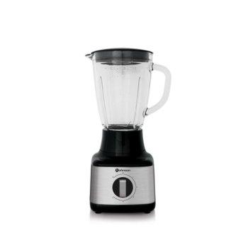 Блендер Rohnson R-5300, 1.5 л. стъклена кана, 5 степени на работа + пулс, 500W, черен image