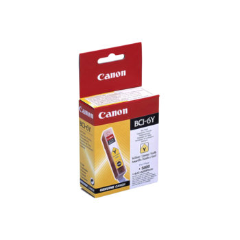 ГЛАВА CANON iP 3000/4000/5000/6000/8500/i860/900/9100/S800/900/9000/BJC-8200 - Yellow - BCI-6Y - заб.:280 pages. image