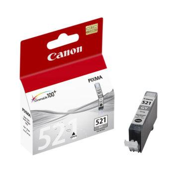ГЛАВА CANON PIXMA iP 3600/4600/MP540/MP620/MP630/MP980 - Grey ink tank - CLI-521GY - заб.: 9ml. image