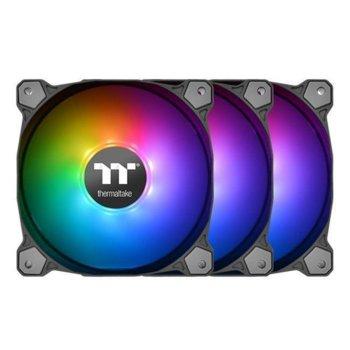 Вентилатор 120mm Thermaltake Pure 12 ARGB, USB 2.0 (9 Pin), 1500 RPM, 3 броя image