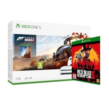 Xbox One S 1TB + RD Redemption 2 + Forza Horizon 4