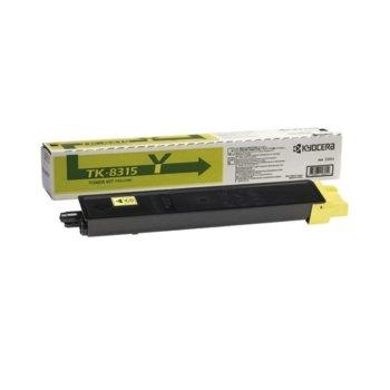 Касета за Kyocera TASKalfa 2550ci - Yellow - TK-8315Y - Заб.: 6 000k image