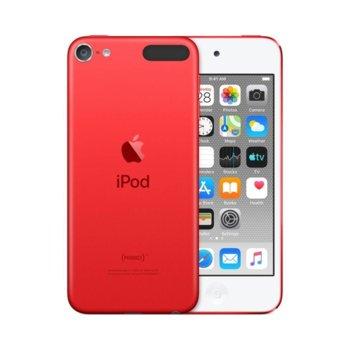 "MP4 плейър Apple iPod Touch (червен), 4.0""(10.16 cm) сензорен IPS Retina дисплей, A10 Fusion чип, 32GB Flash памет, 8Mpix & Facetime HD 1.2Mpix camera, Wi-Fi, Bluetooth 4.1, iOS 12 image"