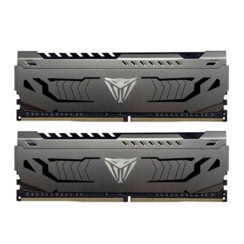 Памет 32GB (2x 16) DDR4 3600Mhz, Patriot Viper Steel PVS432G360C8K, 1.35V image