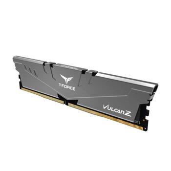 Памет 8GB DDR4, 2666MHz, Team Group T-Force Vulcan Z TLZGD48G2666HC18H01, 1.2V image