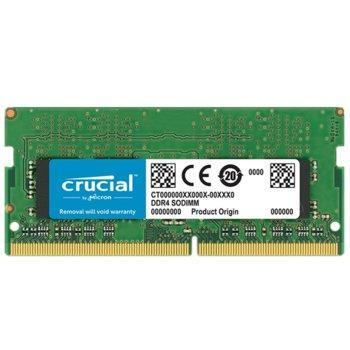 Памет 4GB DDR4 2666MHz, SO-DIMM, Crucial CT4G4SFS8266, 1.2V image