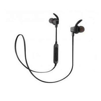 Слушалки Royal BSD-A3, безжични, Bluetooth, микрофон, до 4 часа време за работа, черно-сиви image