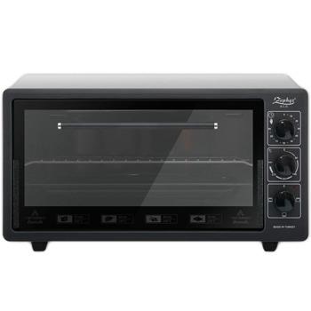 Готварска печка Zephyr ZP 1441 T50 black, 1400W, 50 л обем, терморегулатор, таймер, черна image