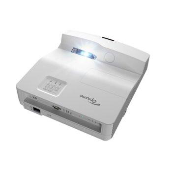 Проектор Optoma EH330UST, Full 3D, DLP, Full HD(1920x1080), 20 000:1, 3600lm, 2x HDMI, VGA, LAN, 2x USB A, RS232 image