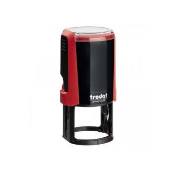 Автоматичен печат Trodat 4638 червен, Ф38 mm, кръгъл image