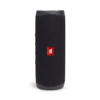 Тонколона JBL Flip 5 BLK, 1.0, 20W RMS, USB, Bluetooth, BLACK, влагоустойчива (IPX7) image