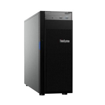 Сървър Lenovo ThinkSystem ST250 (7Y46A04KEA), четириядрен Coffee Lake Intel Xeon E-2224 3.4/4.6 GHz, 16GB DDR4, без твърд диск, 2x GbE LAN, 2x USB 3.1, без OS, 1x 550W  image