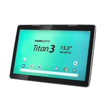 "Таблет Hanspree Pad Titan 3 (HSG-TAB-SN14TP1B2AS05), 13.3"" (33.78 cm) Full HD дисплей, осемядрен ARM A53 1.5 GHz, 2GB DDR3, 16GB (+ microSD слот), 5.0 & 2.0 Mpix, Android image"