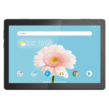 "Таблет Lenovo Tab M10 (HD)(ZA4G0075BG)(черен), Wi-Fi, 10.1"" (25.65 cm) HD IPS дисплей, четириядрен Qualcomm Snapdragon 429 2.0GHz, 2GB RAM, 16GB Flash памет (+ microSD слот), 5.0 & 2.0 Mpix, Android, 480g image"