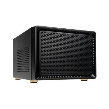 Кутия Kolink Satellite Cube, Micro-ATX, 2x USB 3.0, черна, без захранване image