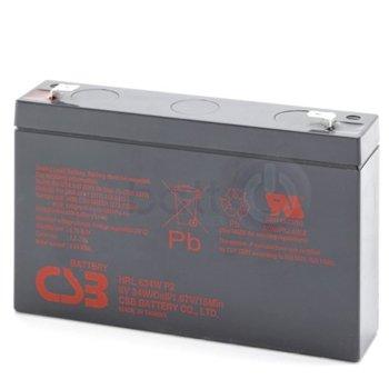 CSB HRL634WF2 Battery 6V 9Ah product
