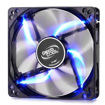 Вентилатор 120mm, DeepCool WIND BLADE 120, 3-пинов, 1300rpm, Blue LED image