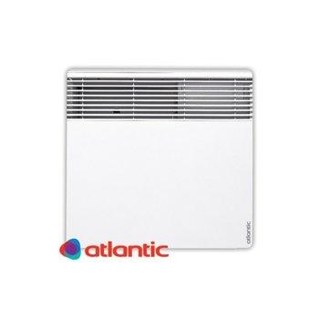 """Конвектор Atlantic F127 Design, 1000W, стенен, до 12 м2 отопляема площ, LCD дисплей, Функция """"Отворен прозорец"""", бял image"""
