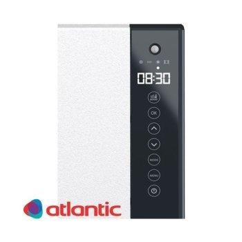 Конвектор за баня Atlantic Telia 1000+800 W, 1000W + 800W, стенен, до 10 м2 отопляема площ, LCD дисплей, Boost функция, черен image