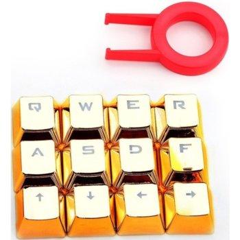 Капачки за механична клавиатура Redragon A103, 12 бутона, златист image