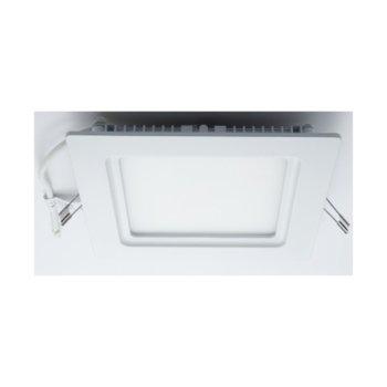 LED панел, ORAX O-P2020-NW-IP44, квадратен, 21W, AC 220V, Неутрално бяла image
