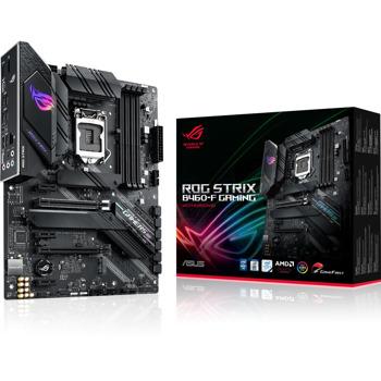 Дънна платка Asus ROG STRIX B460-F GAMING, B460, LGA1200, PCI-E 3.0 (DP&HDMI), (CFX), 6x SATA3, 2x M.2, 1 x USB Type-C, ATX image